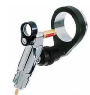 Operating head otoscope