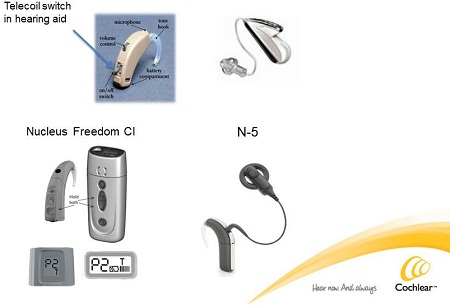 Telecoils in hearing technology