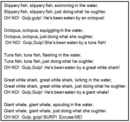 Image result for slippery fish song lyrics