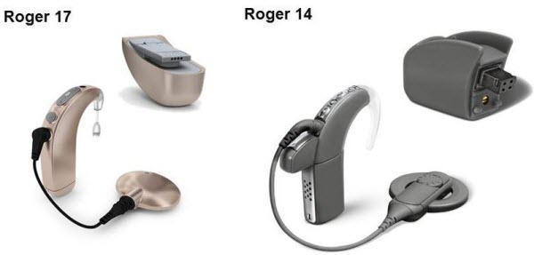 Design-integrated Roger receivers for cochlear implants