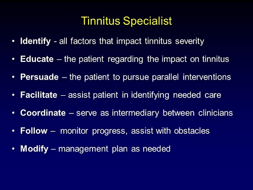 Tinnitus Care What Should I Know When Starting To Provide