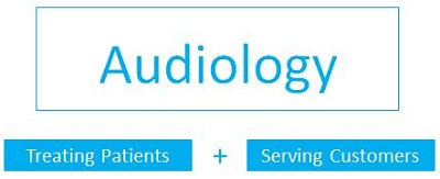 The two sides of individuals seen for services in an audiology clinic