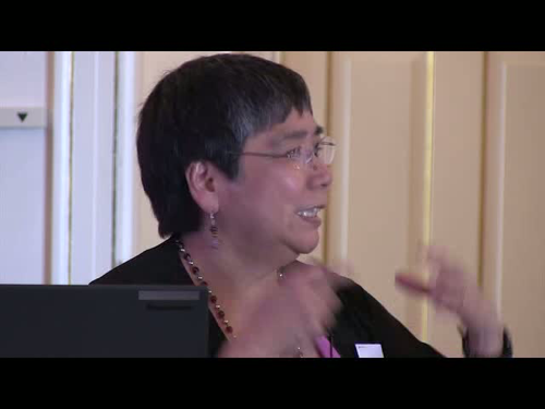 Screenshot from video of Dr. Yoshinaga-Itano's presentation