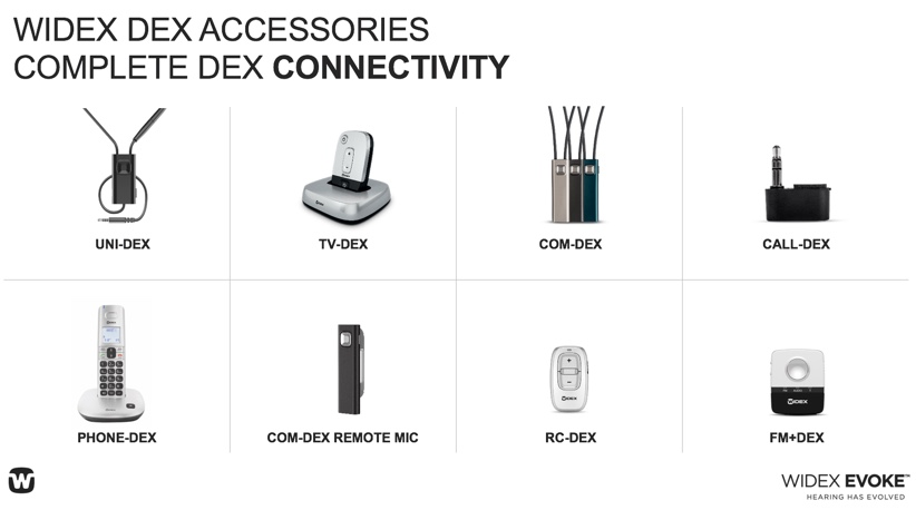 Widex DEX accessories