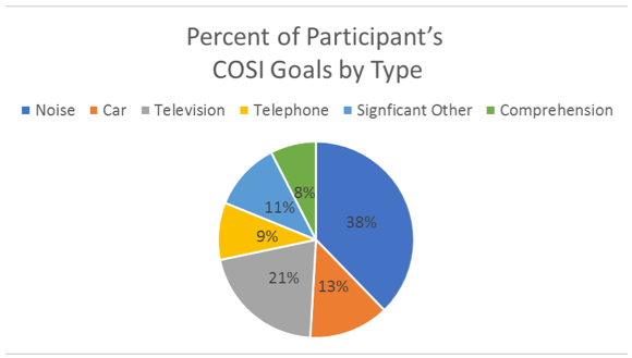 The 60 nominated COSI listening situations grouped into six general categories